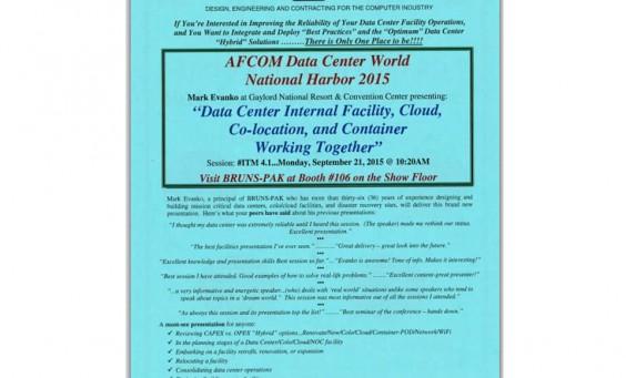 AFCOM Nat Harbor 2015 Flyer Pic 1